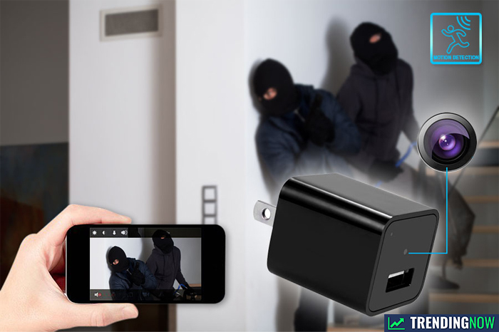 Snap SmartCam - Phone Charger With a Spy Camera Built In - What's Hot